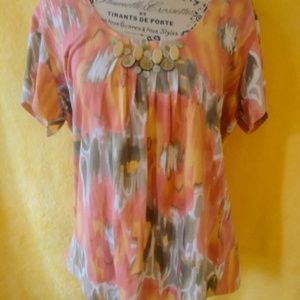Ruby Rd Coral top